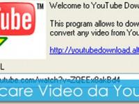 YouTube Downloader: scaricare video gratis