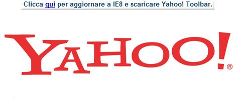 yahoo internet explorer 8