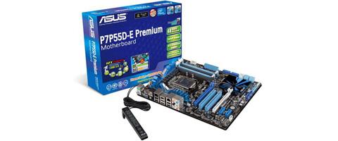 ASUS P7P55D E Premium Motherboard