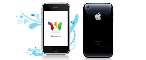 google wave su iphone