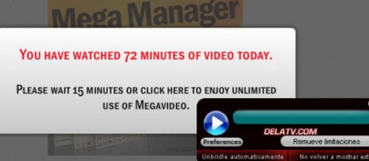 Detect Video 0.4 per Megavideo, Megaupload, e Rapidshare senza limiti