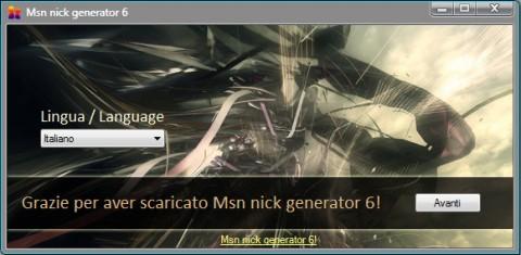 msn nick generator 6