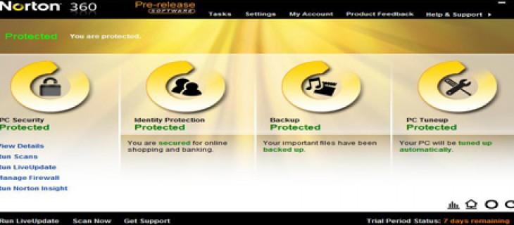 Scaricare gratuitamente Norton 360 Version 4.0 Beta