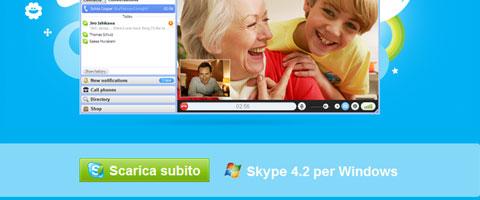 Skyper 4.3 per Windows