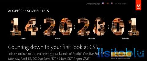 Adobe Creative Suite 5 Countdown