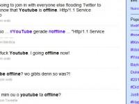 YouTube nuovamente offline