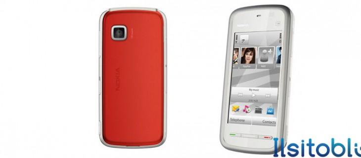 Nokia 5228, smartphone touchscreen economico