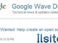 Google è alla ricerca di sviluppatori per Wave