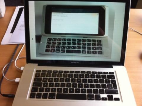 Nokia N9 MacBook pro