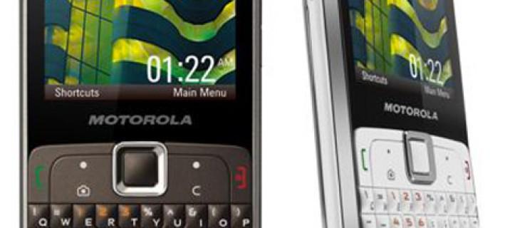 Motorola EX112: cellulare economico con QWERTY, votato al messaging