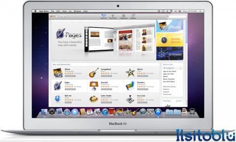App Store su Macbook Air