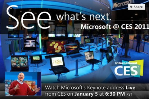 Microsoft CES 2011