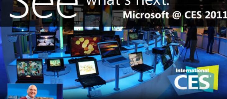 Microsoft in diretta streaming al CES 2011