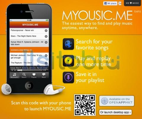 myousic.me iphone