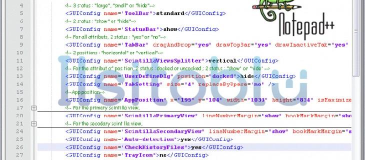 Notepad++: editor C, Java, PHP, ASP, HTML e CSS per Windows