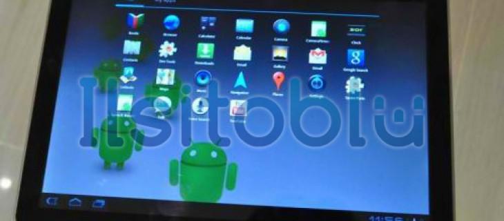 [MWC 2011] Samsung Galaxy Tab 10.1: display WXGA da 10.1″, Android 3.0 e processore Nvidia Tegra 2