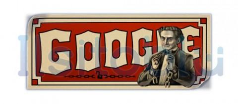 google-doodle Harry Houdini
