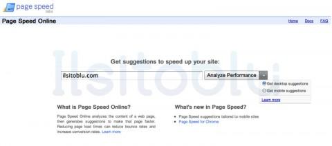 Google-Page-Speed-online