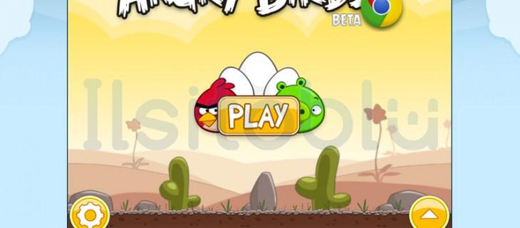Angry Birds HD gratis per Google Chrome