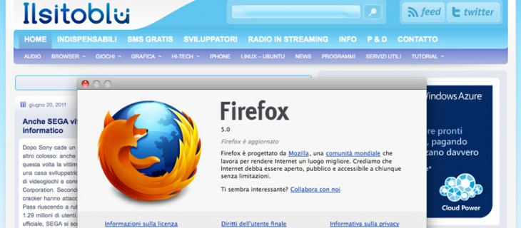 Download Firefox 5 in versione finale