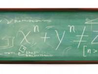 "Google celebra Pierre de Fermat con un doodle ""matematico"""