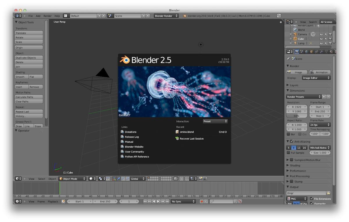 blender miglior programma gratis per la grafica in 3d