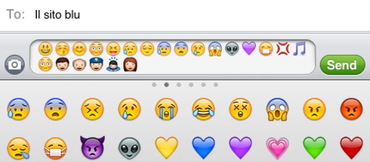 Aggiungere emoticon su iPhone con Emoji e iOS 5