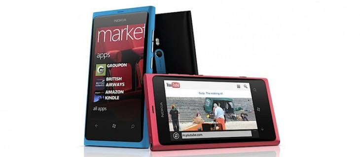 Nokia Lumia 800: primo smartphone Windows Phone 7 di Nokia