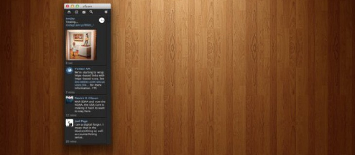 Itsy, client Twitter minimale per Mac