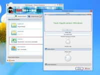 Sfocare le finestre sul desktop con AntiSnooper
