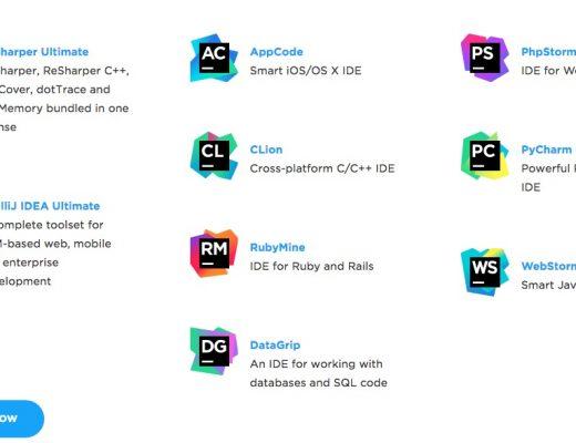 PyCharm, WebStorm, PhpStorm, DataGrip download gratis per gli studenti